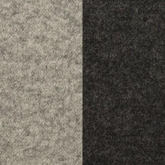 ウール×無地(グレー&チャコール)×圧縮ニット(Wフェイス) サムネイル1