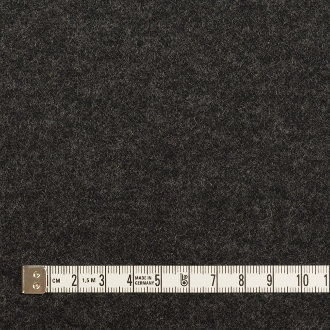 ウール×無地(グレー&チャコール)×圧縮ニット(Wフェイス) イメージ6