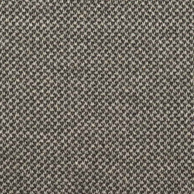 コットン&テンセル×ミックス(グレー)×Wニット イメージ1