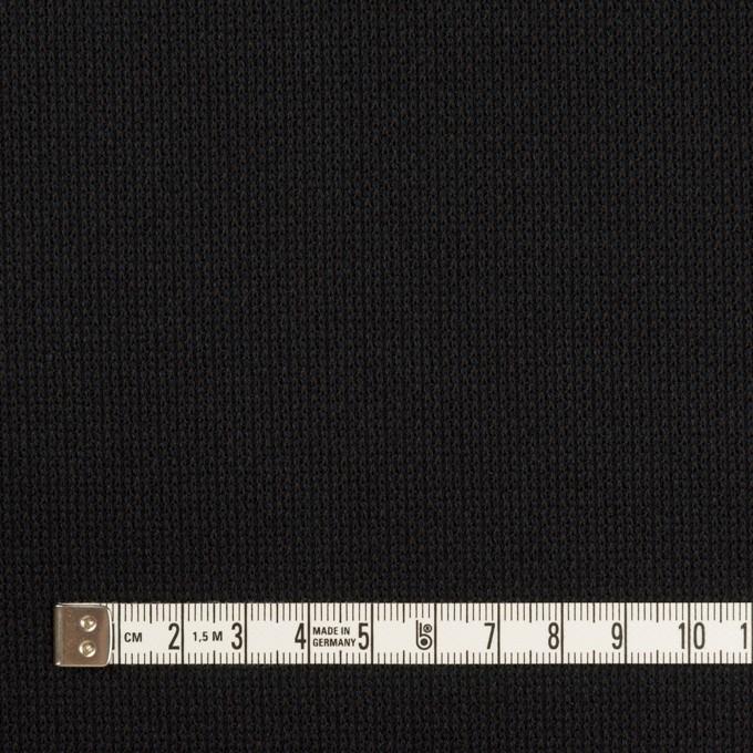 コットン&テンセル×ミックス(ブルーブラック)×Wニット イメージ4