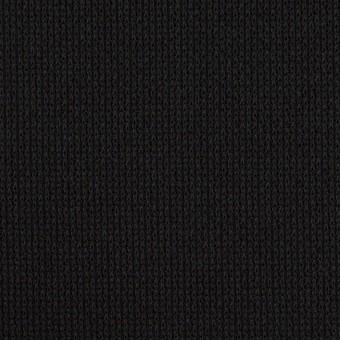 コットン&テンセル×ミックス(ブルーブラック)×Wニット