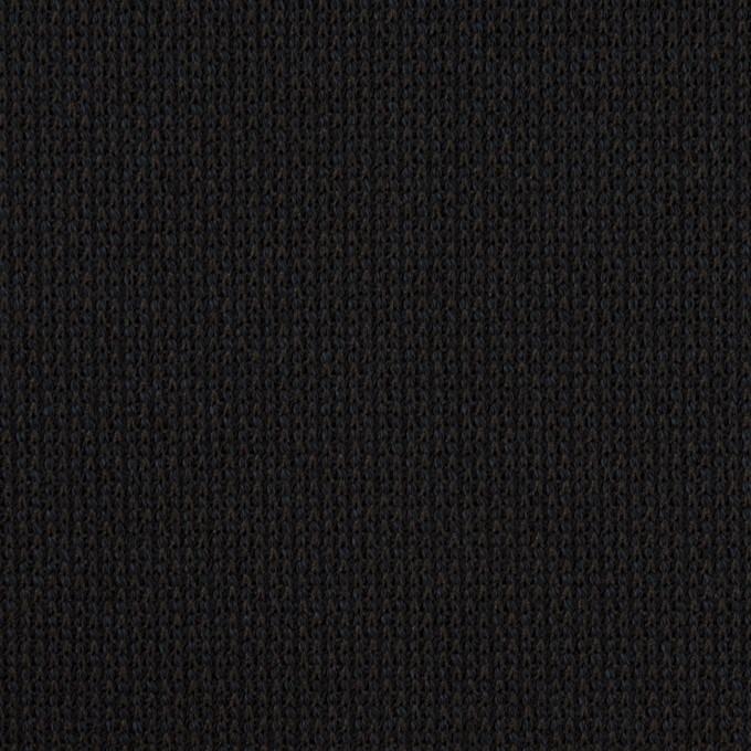 コットン&テンセル×ミックス(ブルーブラック)×Wニット イメージ1