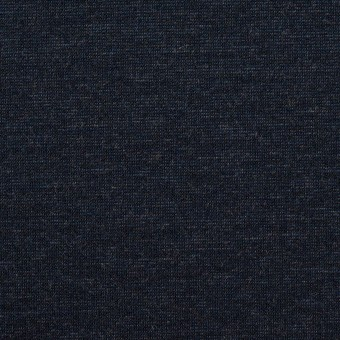 テンセル&ナイロン混×無地(ネイビー)×Wニット_全2色