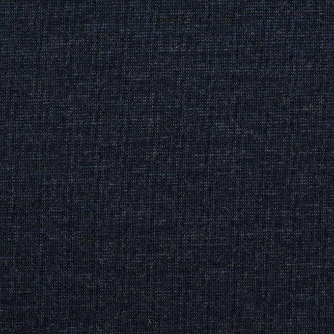 テンセル&ナイロン混×無地(ネイビー)×Wニット_全2色 イメージ1