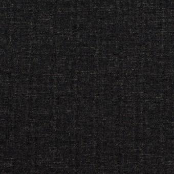 テンセル&ナイロン混×無地(チャコール)×Wニット_全2色