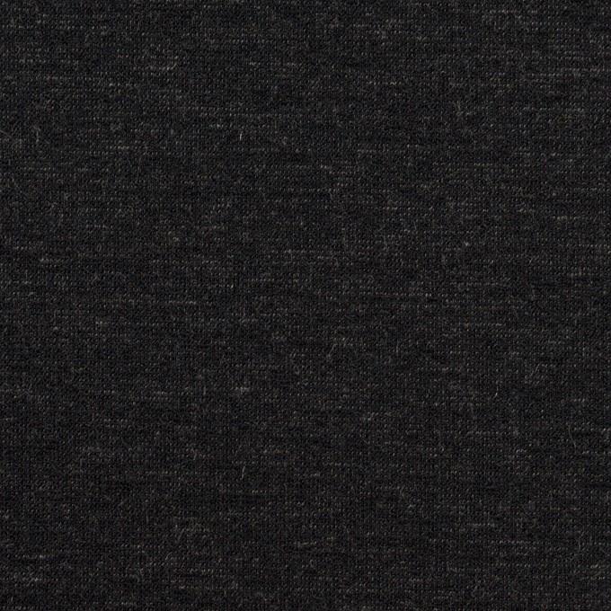 テンセル&ナイロン混×無地(チャコール)×Wニット_全2色 イメージ1