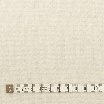 ウール×無地(ライトグレー&ミルク)×かわり織(Wフェイス) サムネイル6