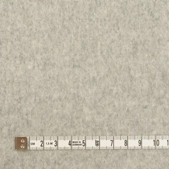 ウール&カシミア×無地(ライトグレー)×フラノ(フランネル) サムネイル4