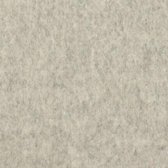 ウール&カシミア×無地(ライトグレー)×フラノ(フランネル)