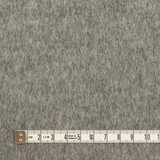 ウール&ナイロン×無地(グレー)×ビーバー イメージ4