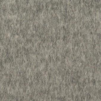 ウール&ナイロン×無地(グレー)×ビーバー