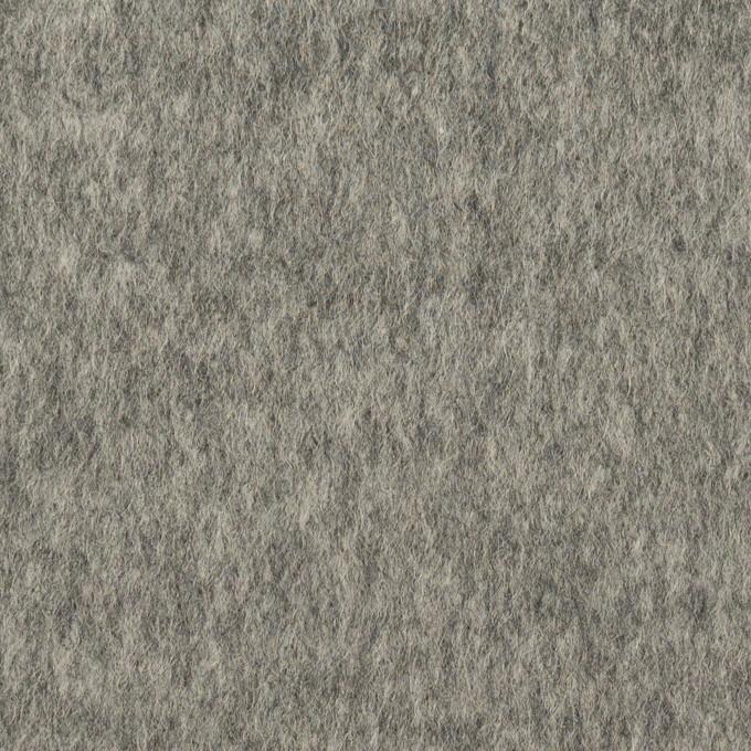 ウール&ナイロン×無地(グレー)×ビーバー イメージ1