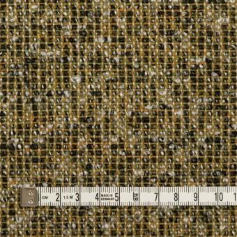 ウール&ポリエステル混×ミックス(オリーブ&ブラック)×かわり織 サムネイル4