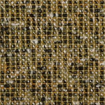 ウール&ポリエステル混×ミックス(オリーブ&ブラック)×かわり織