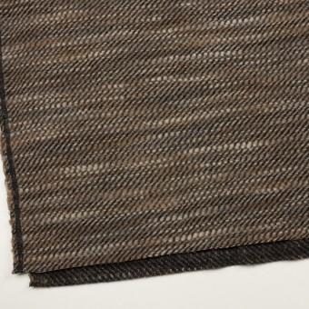 ウール×ミックス(ブラウン)×かわり織 サムネイル2