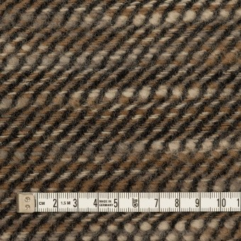 ウール×ミックス(ブラウン)×かわり織 サムネイル4