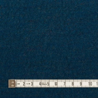 ウール×無地(ターコイズブルー)×天竺ニット サムネイル4