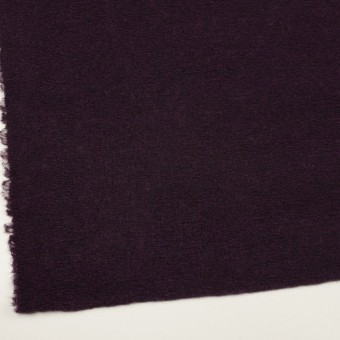 モヘア&ウール混×無地(レーズン)×ループニット_全2色_イタリア製 サムネイル2