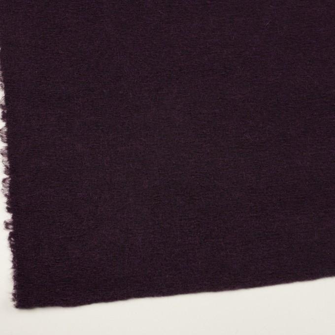 モヘア&ウール混×無地(レーズン)×ループニット_全2色_イタリア製 イメージ2