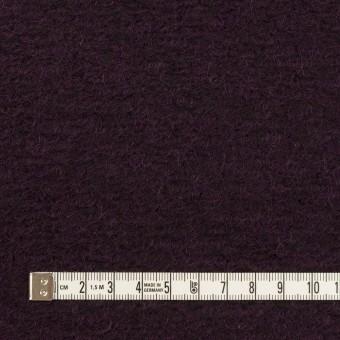 モヘア&ウール混×無地(レーズン)×ループニット_全2色_イタリア製 サムネイル4