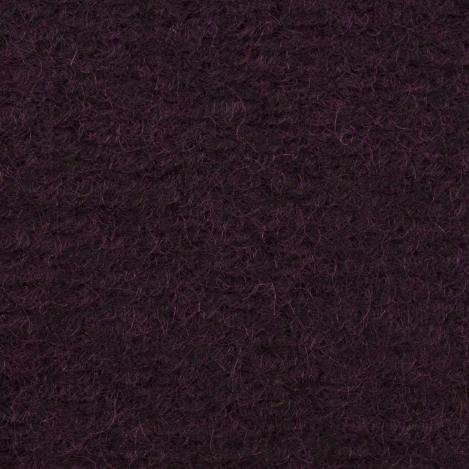 モヘア&ウール混×無地(レーズン)×ループニット_全2色_イタリア製 イメージ1