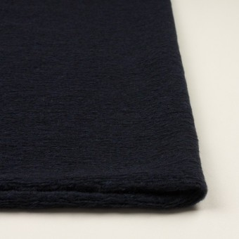 モヘア&ウール混×無地(アッシュネイビー)×ループニット_全2色_イタリア製 サムネイル3