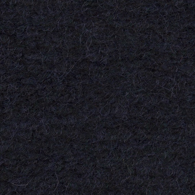 モヘア&ウール混×無地(アッシュネイビー)×ループニット_全2色_イタリア製 イメージ1