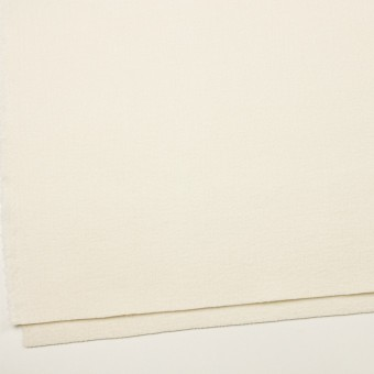 ウール×無地(エクリュ)×かわり織(圧縮加工) サムネイル2