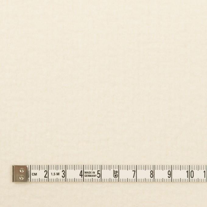 ウール×無地(エクリュ)×かわり織(圧縮加工) イメージ4