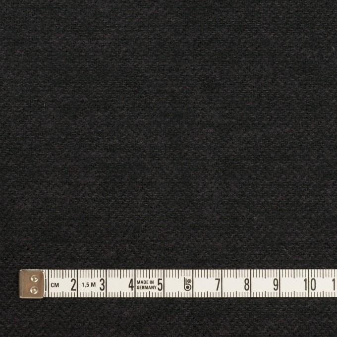 コットン×無地(チャコール)×ヘリンボーン イメージ4