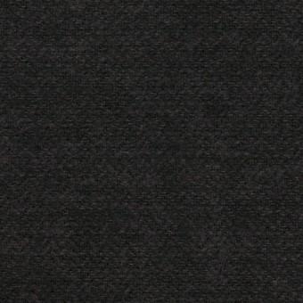 コットン×無地(チャコール)×ヘリンボーン