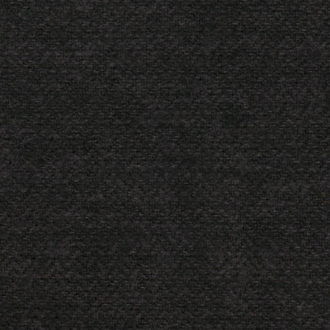 コットン×無地(チャコール)×ヘリンボーン イメージ1