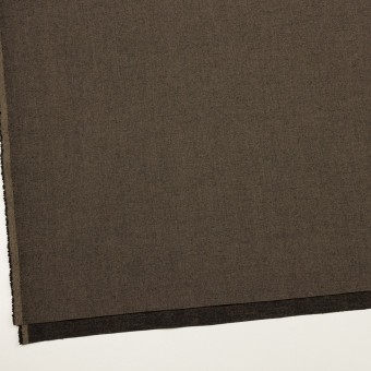 コットン&レーヨン混×無地(アッシュブラウン)×二重織ストレッチ サムネイル2