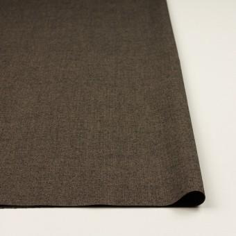 コットン&レーヨン混×無地(アッシュブラウン)×二重織ストレッチ サムネイル3
