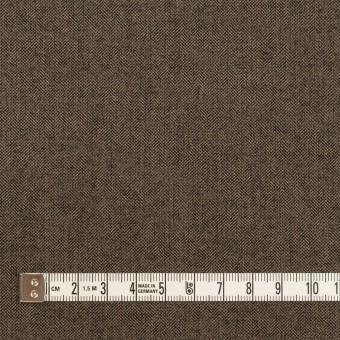 コットン&レーヨン混×無地(アッシュブラウン)×二重織ストレッチ サムネイル4