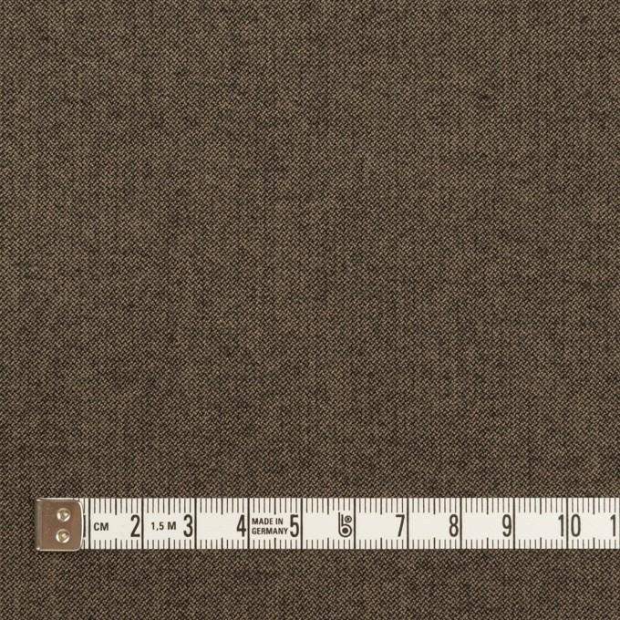 コットン&レーヨン混×無地(アッシュブラウン)×二重織ストレッチ イメージ4