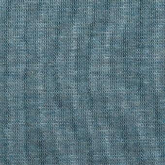 コットン&モダール×無地(スカイブルー&チャコールグレー)×Wニット サムネイル1