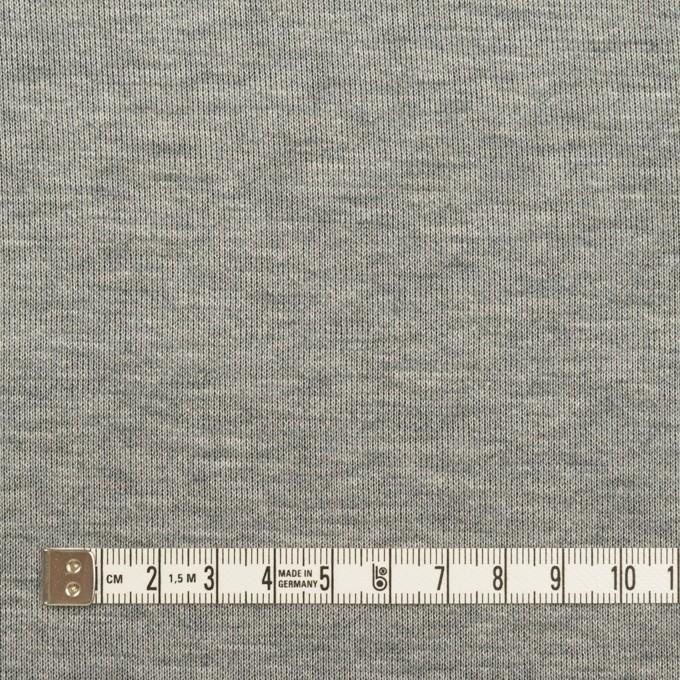 コットン&モダール×無地(シルバーグレー&ダークネイビー)×Wニット イメージ4