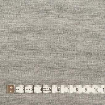 テンセル&コットン×無地(シルバーグレー&チャコール)×Wニット サムネイル4
