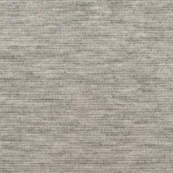 テンセル&コットン×無地(シルバーグレー&チャコール)×Wニット