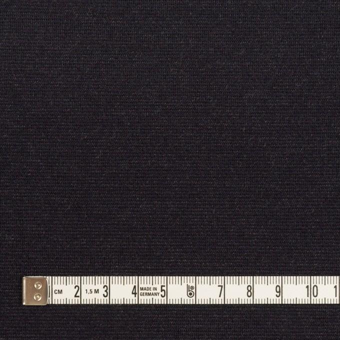 テンセル&コットン×無地(シルバーグレー&チャコール)×Wニット イメージ6