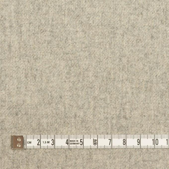 ウール&ナイロン×無地(ライトグレー)×ツイード イメージ4