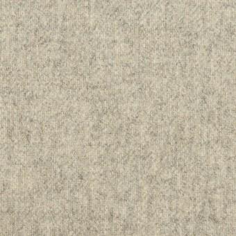 ウール&ナイロン×無地(ライトグレー)×ツイード