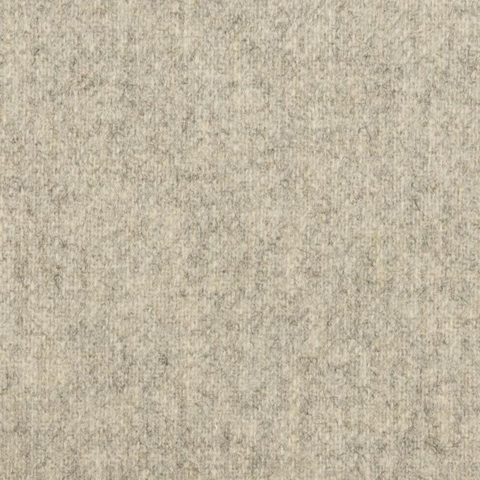 ウール&ナイロン×無地(ライトグレー)×ツイード イメージ1