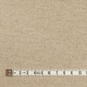 アンゴラ&ウール×無地(オートミール)×サージ サムネイル4