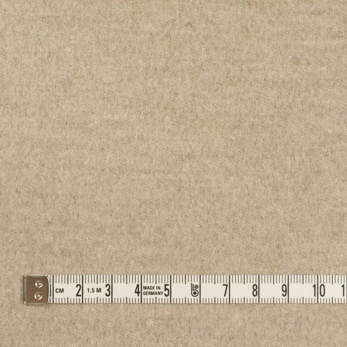 アンゴラ&ウール×無地(オートミール)×サージ イメージ4