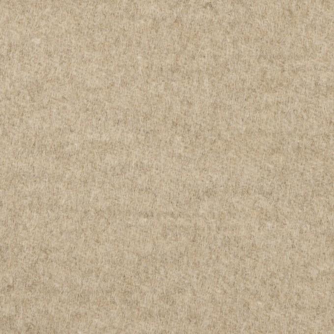 アンゴラ&ウール×無地(オートミール)×サージ イメージ1
