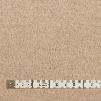 ウール&カシミア×無地(ビスケット)×サージ サムネイル4