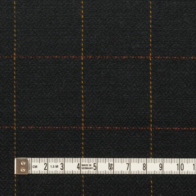 コットン×チェック(チャコール)×ヘリンボーン イメージ4