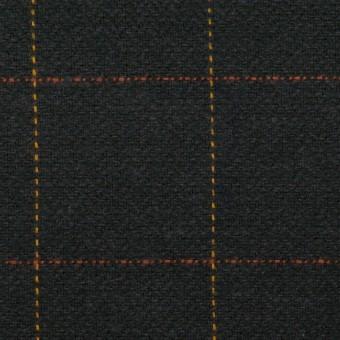 コットン×チェック(チャコール)×ヘリンボーン サムネイル1